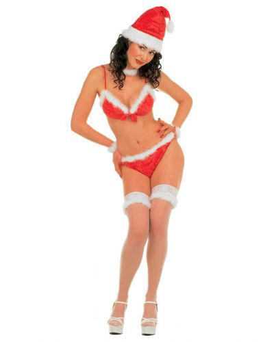 Miss Santa - Sexy Fancy Dress (Widmann)